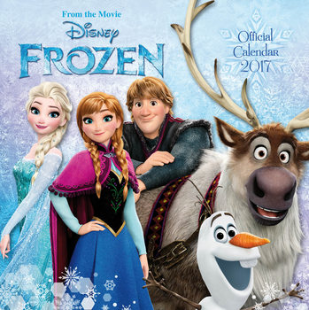 Kalender 2017 Disney - Frozen