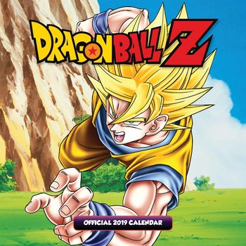 Dragon Ball Z Kalender 2019