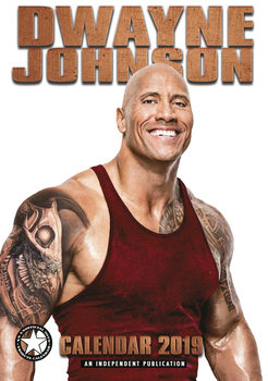 Kalender 2019 -  Dwayne Johnson