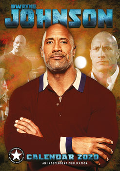 Kalender 2020  Dwayne Johnson