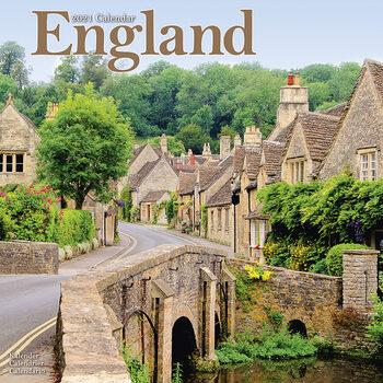 Kalender 2021 England