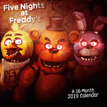 Five Nights At Freddys Kalender 2019