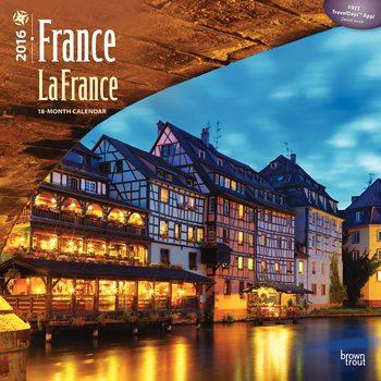Frankrijk - La France Kalender 2017