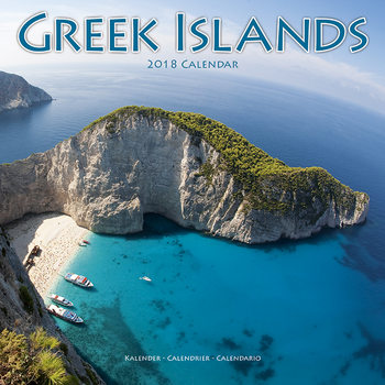 Kalender 2018 Greek Islands