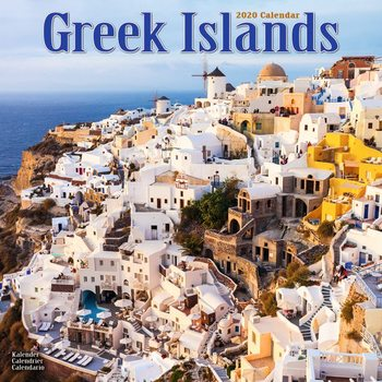 Kalender 2020  Greek Islands