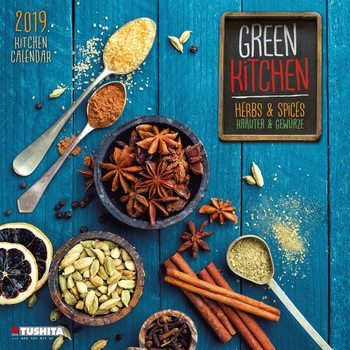 Kalender 2020  Green Kitchen - Herbs & Spices