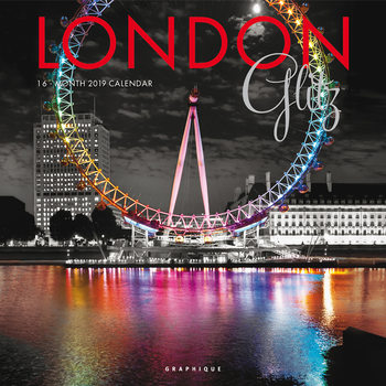 Kalender 2019 London - Glitz