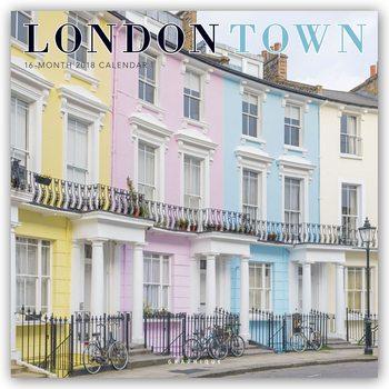 Kalender 2018 London Town