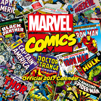 Kalender 2017 Marvel comics