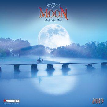 Kalender 2019 Moon, Good Moon