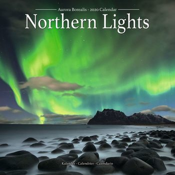 Kalender 2020-  Northern Lights
