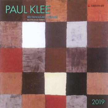 P. Klee - Rectangular Colours Kalender 2019