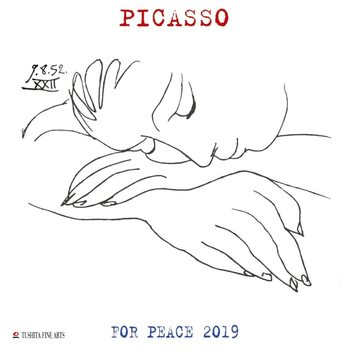 Kalender 2019 -  P. Picasso - War and Peace