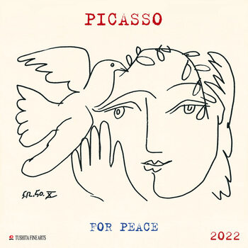Kalender 2022 Pablo Picasso - War and Peace