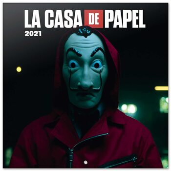 Kalender 2021- Papirhuset (La Casa De Papel)