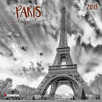 Kalender 2018 Paris Retrospective