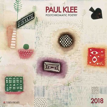 Paul Klee - Polychromatic Poetry  Kalender 2018