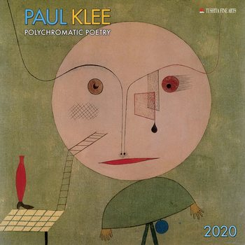 Paul Klee - Polychromatic Poetry Kalender 2020