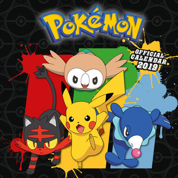 Pokemon Kalender 2019