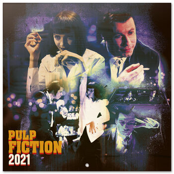 Kalender 2021 Pulp Fiction