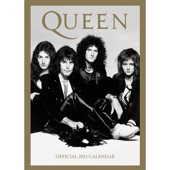 Kalender 2021 - Queen