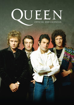 Kalender 2020 - Queen