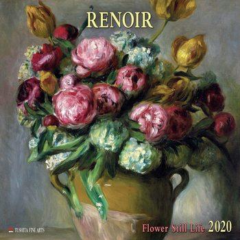 Kalender 2020  Renoir - Flowers still Life