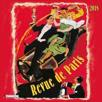 Kalender 2018 Revue de Paris