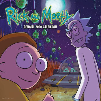 Kalender 2020  Rick & Morty
