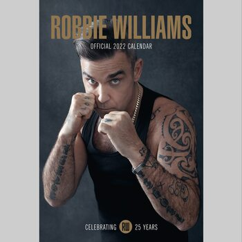 Kalender 2022 Robbie Williams