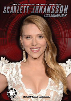Kalender 2022 Scarlett Johansson
