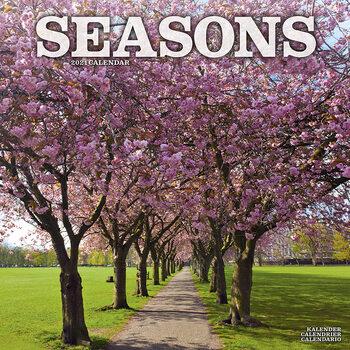 Kalender 2021 Seasons
