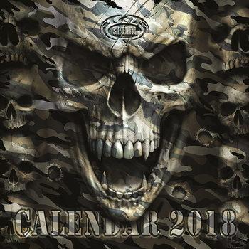 Kalender 2018 Spiral