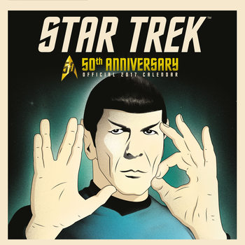 Kalender 2017 Star Trek: 50th anniversary