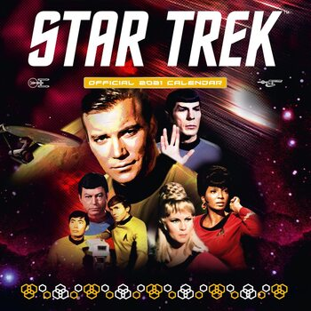 Kalender 2021 Star Trek - TV series - Classic