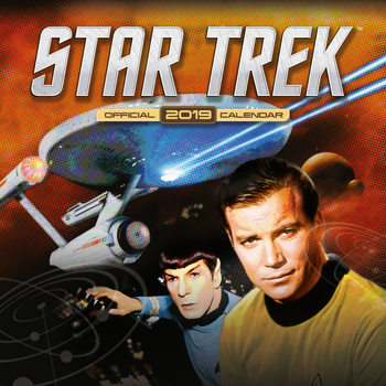 Star Trek - Tv Series Kalender 2019