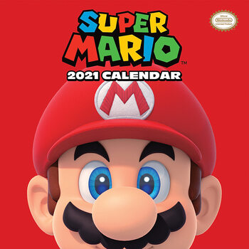Super Mario Kalender 2021