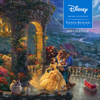 Kalender 2019 Thomas Kinkade - The Disney Dreams Collection