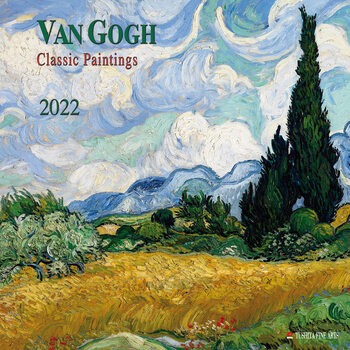 Kalender 2022 Vincent van Gogh - Classic Works