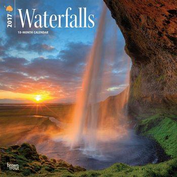 Kalender 2017 Wasserfälle