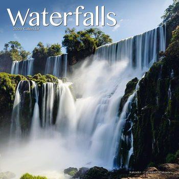Kalender 2020 Waterfalls