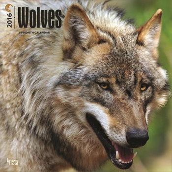Kalender 2021 Wölfe