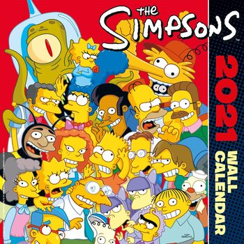 The Simpsons Kalender 2021