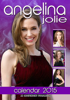 Angelina Jolie Kalender 2017