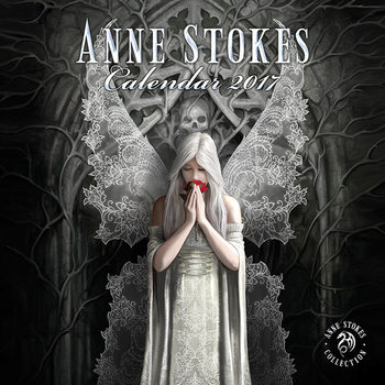 Anne Stokes Kalender 2017