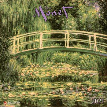 Claude Monet Kalender 2021