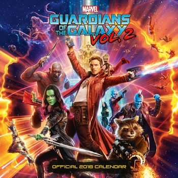 Guardians Of The Galaxy Kalender 2018