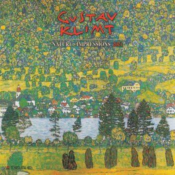 Gustav Klimt - Nature Kalender 2021
