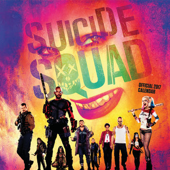 Suicide Squad Kalender 2017