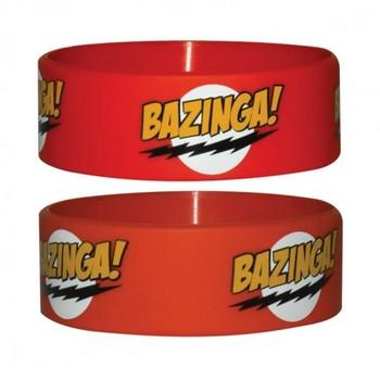 BAZINGA - red karkötő